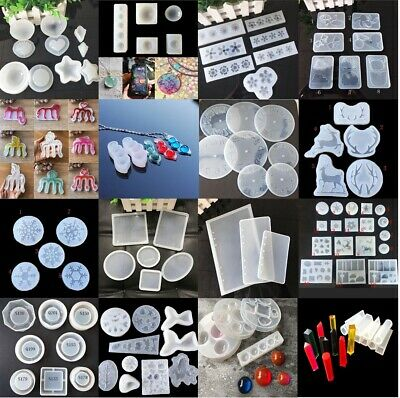 $ CDN2.75 • Buy Silicone Resin Mold For DIY Jewelry Pendant Making Tool Mould Handmade Craft