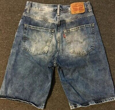 £21.68 • Buy Vtg 90s Levis 569 Jean Shorts 30 Faded Sport Loose Sailing Nautical Hiking