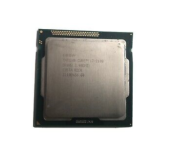 Intel Quad CORE I7-2600 3.40GHz SR00B 8M Cache Desktop CPU LGA1155 • 56.60£