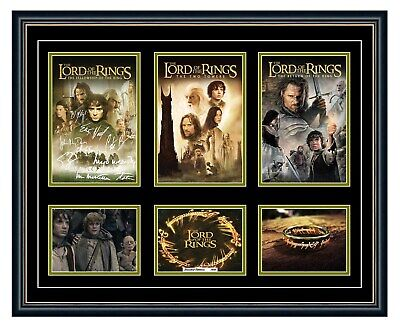 AU99.99 • Buy The Lord Of The Rings Trilogy Signed Poster Limited Edition Framed Memorabilia