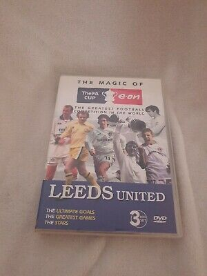The Magic Of The Fa Cup Leeds United 3 Disk Dvd Set • 19.95£