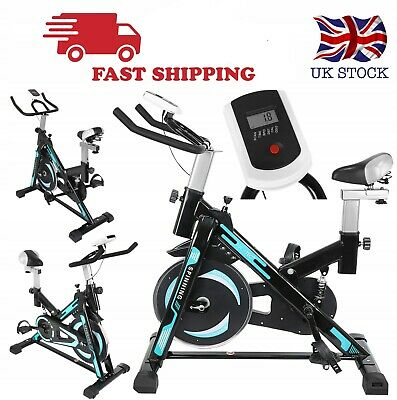 Exercise Bike Home Gym Bicycle Cycling Cardio Fitness Training Indoor Workout  • 179£
