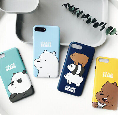 AU11.99 • Buy Cute Cartoon We Bare Bears Soft TPU Case Cover For IPhone X XS 6s 7 8 Plus