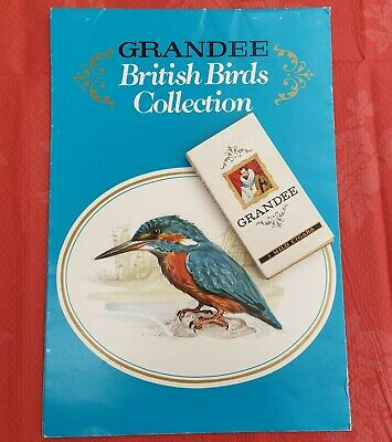 Grandee, British Birds Collection, Full Set Of 32 Cards With Wall Chart • 4.99£