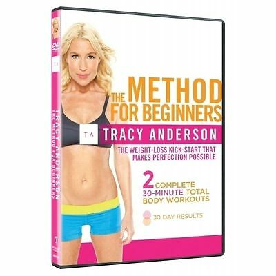 Tracy Anderson: The Method For Beginners DVD (2013) Tracy Anderson Cert E • 2.45£