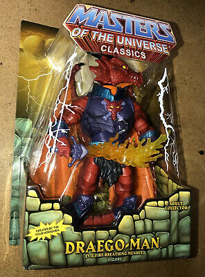 $149.99 • Buy Masters Of The Universe Classics Draego-man 30th Anniversary Exclusive New