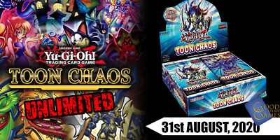 Yu-Gi-Oh! - Toon Chaos - Unlimited Edition -  Singles (Any 4+ 50% Off) • 0.99£