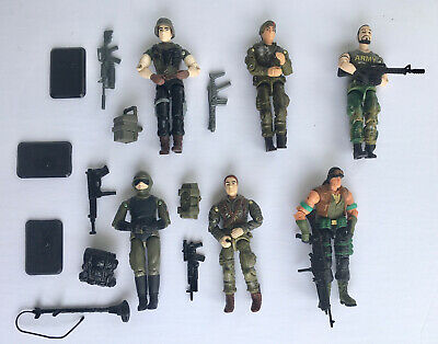 $ CDN65.91 • Buy Lot Of GI Joe Action Figures With Many Accessories/Weapons