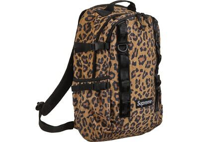 $ CDN291.18 • Buy New Authentic Supreme Leopard Backpack Fw20 Bag Stickers Free Ship