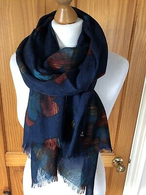 Seasalt Patina Flower Pretty Printed Scarf Brand New With Tags • 24.95£