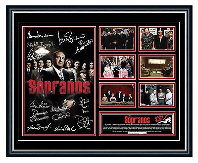 AU99.99 • Buy The Sopranos Cast James Gandolfini Signed Limited Edition Framed Memorabilia