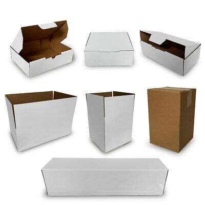 AU79.94 • Buy 100x Mailing Box Cardboard Shipping Packing Mailer Parcel Boxes Small Medium