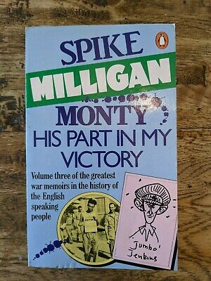 Spike Milligan Monty His Part In My Victory Paperback Book Excellent Condition • 3.99£