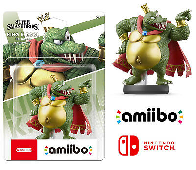 AU98 • Buy King K Rool Super Smash Bros Ultimate No 67 Character Amiibo For Nintendo Switch