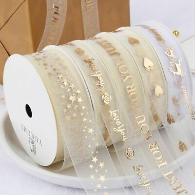 9m/Roll Silk Satin Ribbons For Crafts DIY Hair Bow Flowers Gift Wrapping Decor • 15.02£
