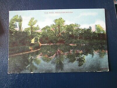 £0.99 • Buy Postcard Of The Park, Middlesborough (Unposted)