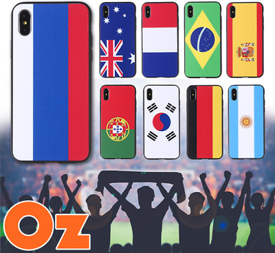 AU11 • Buy National Flag Case For Sony Xperia XZ2 Premium, Quality Painted Cover Weirdland