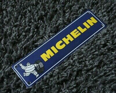 $ CDN187.65 • Buy Vintage Michelin Porcelain Sign Gas Motor Oil Service Station Pump Plate Push
