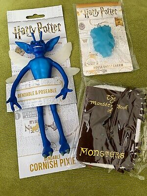 Harry Potter Monster Book Purse Bloody Baron  Charm Loot Crate Cornish Pixie Lot • 25.99£