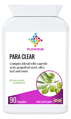 Strong Para Clear Human Parasite Intestinal Worm Cleanse Detox Tapeworm Candida • 24.99£