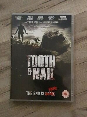 Tooth And Nail DVD (2009) Michael Madsen, Young (DIR) Cert 15 FREE POSTAGE • 3.49£