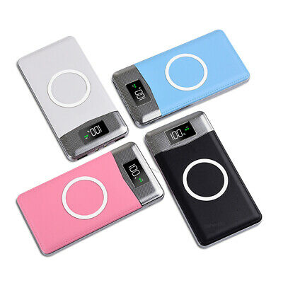 AU25.99 • Buy Mini Portable Wireless Power Bank 10000mah With Led Display For Iphone & Samsung