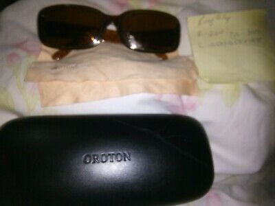 AU49.99 • Buy Prescripted Vision Sunglasses Or No Pv 2 To Choose Oroton Used Was $579