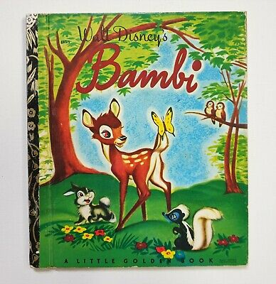 £7.17 • Buy Bambi, Vintage Little Golden Book