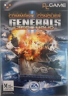 AU29 • Buy Command & Conquer Generals Zero Hour Expansion PC Game Discs Like New Sent