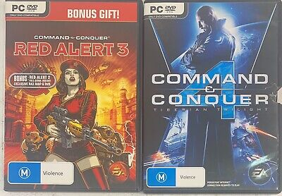 AU29 • Buy Command And Conquer 4 Tiberian Twilight + Red Alert 2+3 Like New Sent Tracked