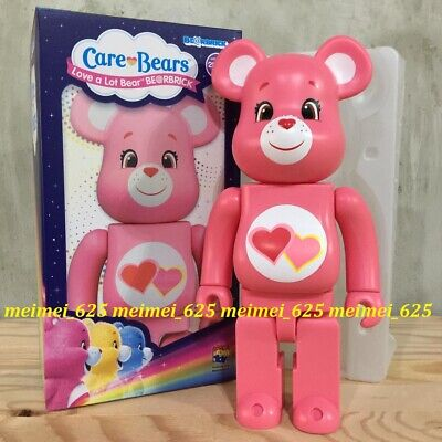 $254.99 • Buy Bearbrick Medicom 2020 Care Bear ~ Love A Lot Bear Pink 400% Be@rbrick