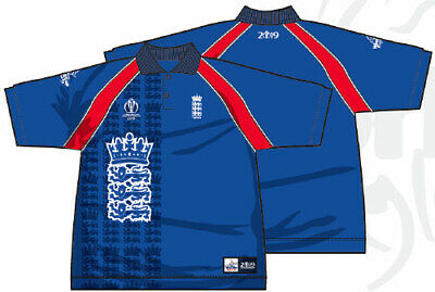 World Cup 2019 England Cricket 1999 Throwback ODI Shirt - Large *RRP £50* • 10£