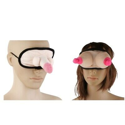 £4.92 • Buy Penis Willy + Boobie Eye Mask Funny Hen Night Party Accessories & Games Fun