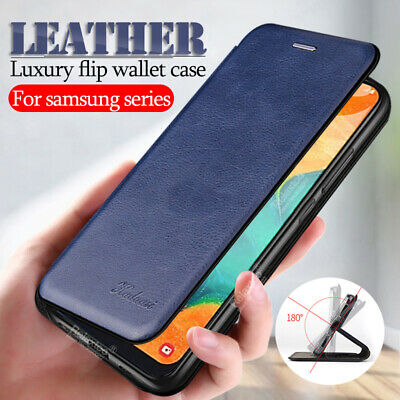 $ CDN7.28 • Buy For Samsung Galaxy S20 Ultra S10 S9 S8 Plus Magnetic Leather Wallet Case Cover