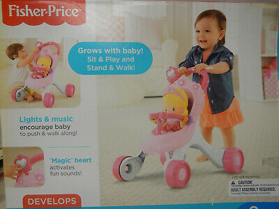 £7.50 • Buy Spare Parts / Accessories For Fisher-Price Princess Mommy Stroll-Along Walker