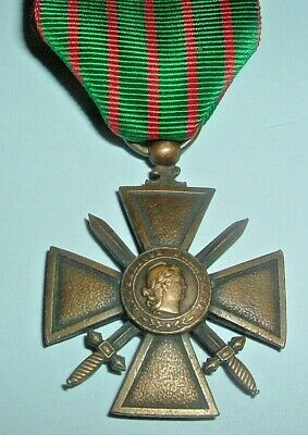 Medals-original French/france Ww1 1914-1916 Croix Du Guerre  • 28£