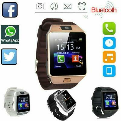 AU12.54 • Buy DZ09 Bluetooth Smart Watch Camera Phone Mate GSM SIM Samsung For Android H1W9
