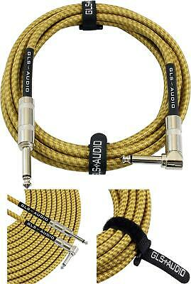 $ CDN21.15 • Buy GLS Audio Guitar Cable - Amp Cord For Bass & Electric Guitar