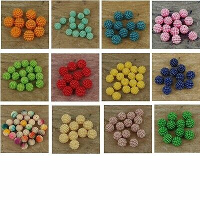 £2.50 • Buy Pearl Cluster Resin Pearls Craft  Beads Gems Many Colours Pack Of 50 , 10 Mm P10