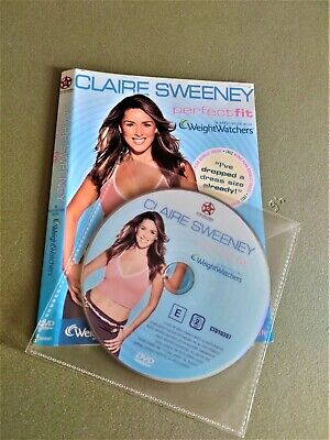 Claire Sweeney - Perfect Fit With Weight Watcher DVD Disc & Artwork  • 1.65£