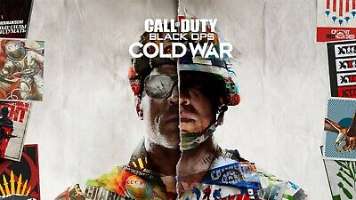 £12.91 • Buy Call Of Duty Black Ops Cold War Game Poster Art RePrint Wall Home Room Decor