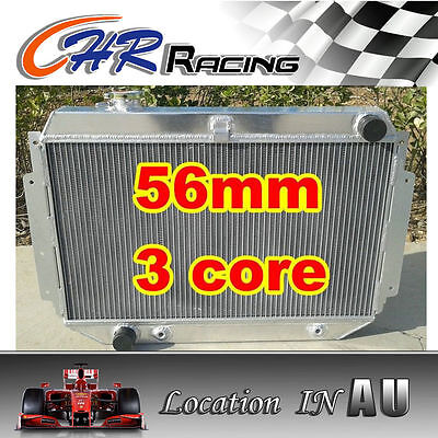 AU170 • Buy 3ROW Aluminum Radiator For HOLDEN HQ HJ HX HZ V8 Kingswood 253 & 308 AT/MT
