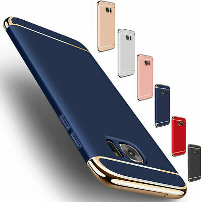$ CDN9.24 • Buy For Samsung Galaxy S7 Edge Slim Shockproof Hybrid Hard Electroplate Case Cover