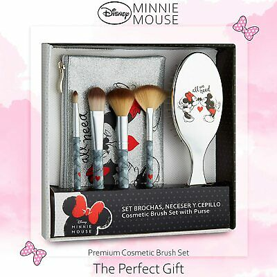 Disney Minnie Mouse Set Makeup Bag For Women And Teen Girls Gifts For Her • 14.29£