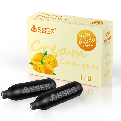 AU58.88 • Buy 100 Bulbs Fruit Flavour SSES Cream Chargers Pure Whipper Nitrous Oxide N2O