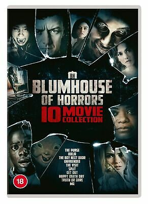 Blumhouse Of Horrors 10-movie Collection (Box Set) [DVD] • 14.99£