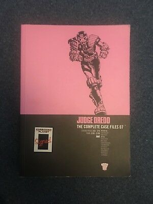 Judge Dredd: Complete Case Files 7 Signed ALAN GRANT Paperback • 17.99£