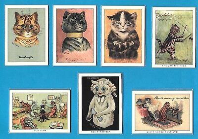 £9 • Buy LOUIS WAIN CATS CHOOSE ANY 3 X COMPLETE SETS OF SIX CARDS FROM THE 13 AVAILABLE