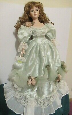 $ CDN25 • Buy  ADELE, Vintage Victorian Duck House Porcelain Doll #1314 Of 5000