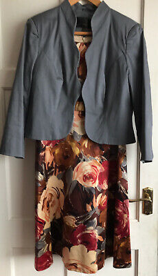 Dress And Jacket Size 18, Suitable For Wedding, Christening Or Special Occasions • 18£